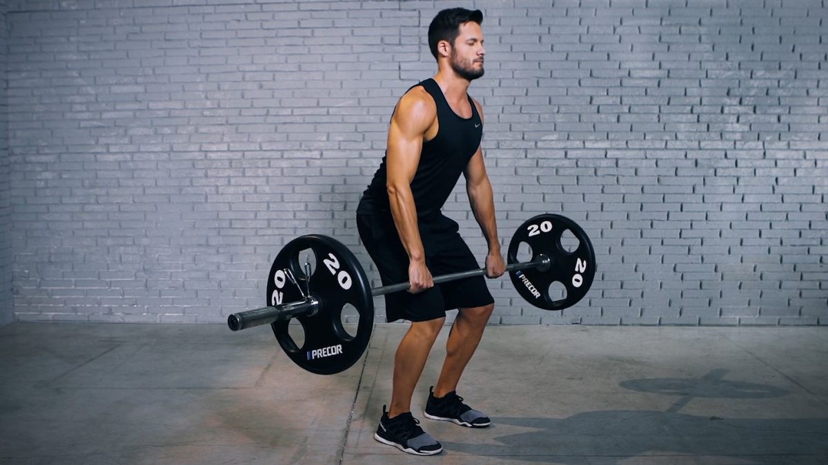 barbell clean - power clean - EVO Fitness