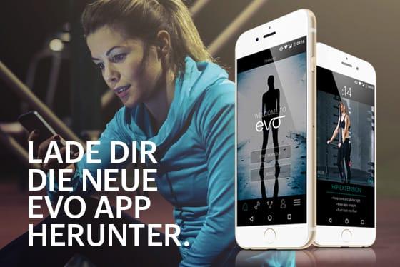 evo app herunterladen