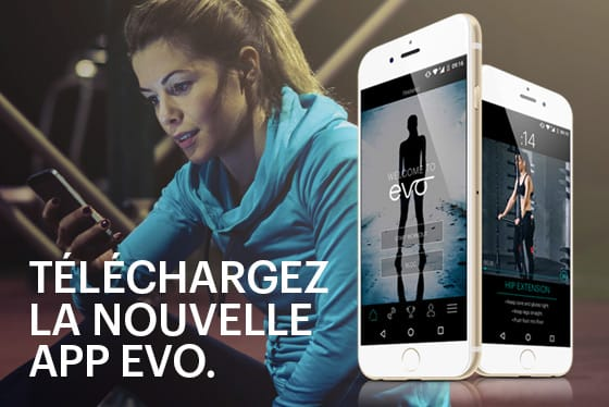 application evo fitness