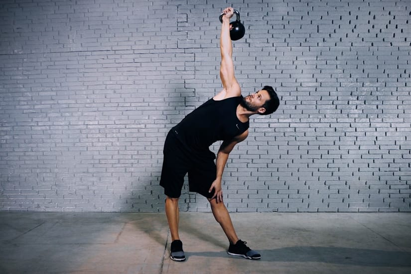 EVO Fitness: Kettlebell Side Press