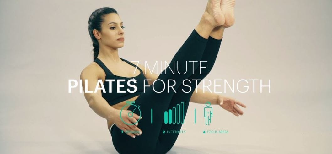 7 minutes Pilates for strenght