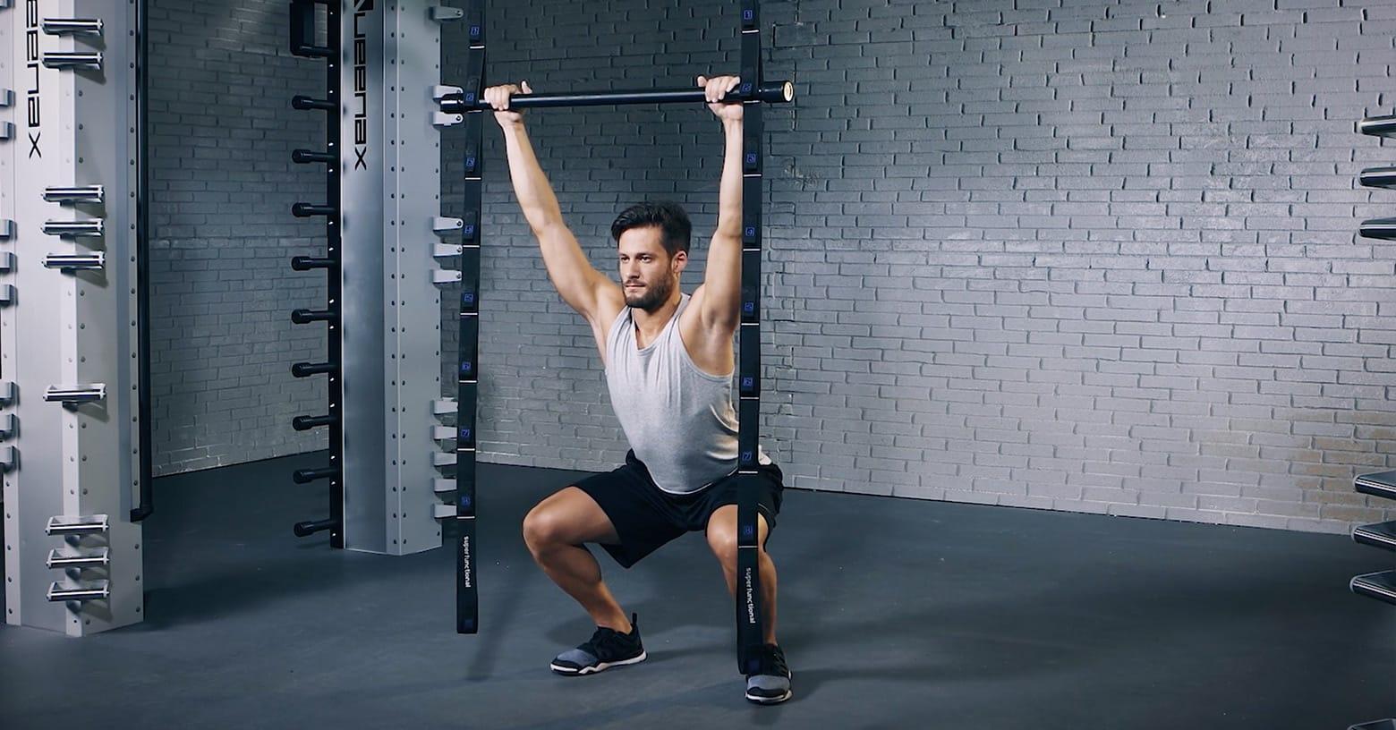 Overhead Squat - Evo Fitness