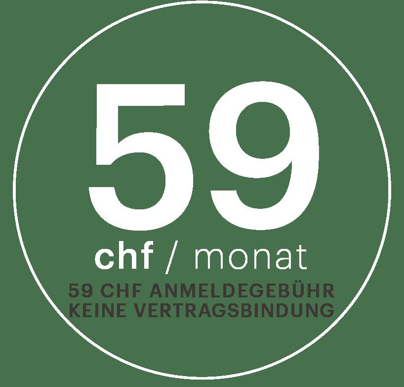EVO Fitness Fribourg - CHF 59.-/Monat