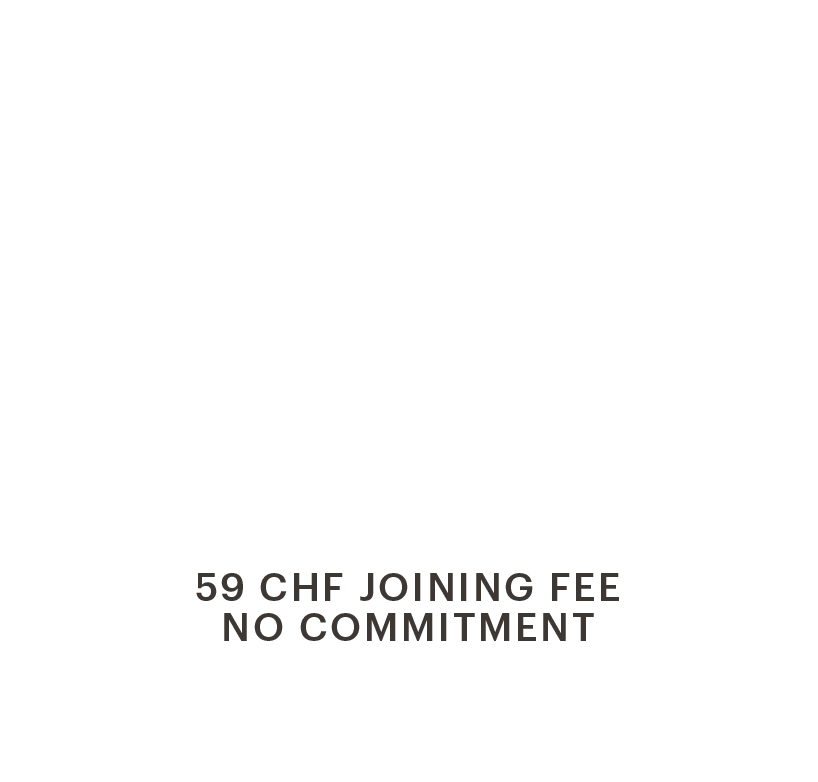 EVO Fribourg - CHF 59.- per month