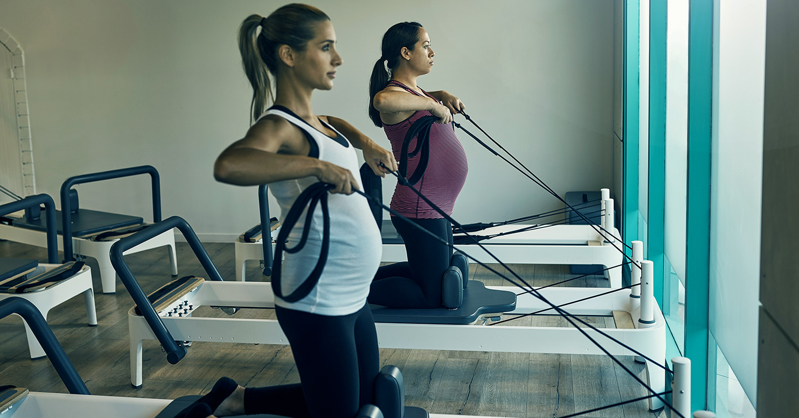 functional training in pregnancy - funktionelles Training während der Schwangerschaf - l'entraînement fonctionnel pendant la grossesse - EVO Fitness