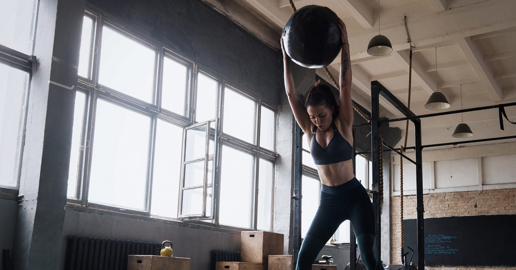 slam ball - Evo Fitness
