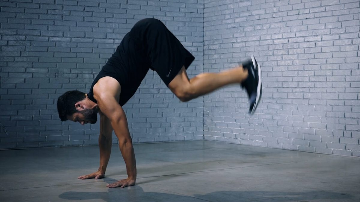 inverted jump - Saut inversé - EVO Fitness