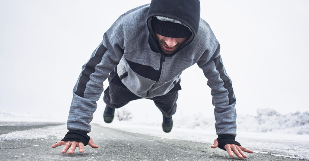 training in winter - Entraînement en hiver - Training im Winter - evofitness