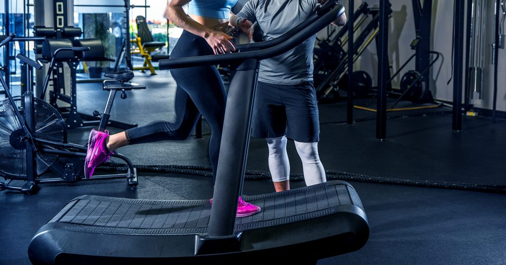 woodway treadmill - woodway laufband - Tapis de course Woodway - EVO Fitness