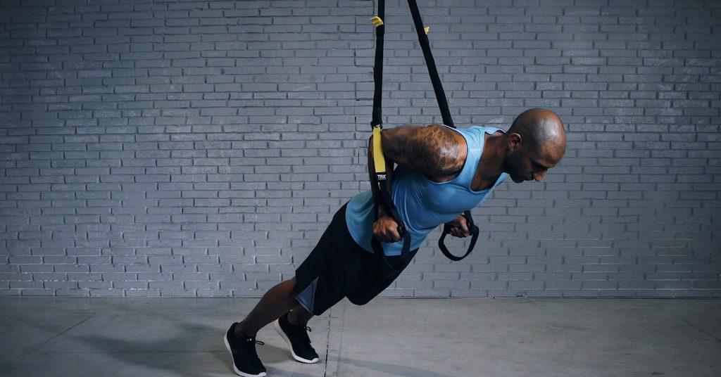 TRX low press - Low press TRX - EVO Fitness
