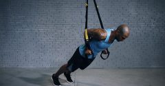 Here Is How to Perform the TRX Low Press for Superior Upper Body Strength and Stability