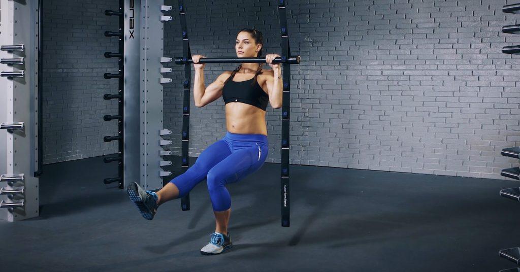 Single leg pull-up - Einbeiniger Klimmzug - Traction sur une jambe - EVO Fitness