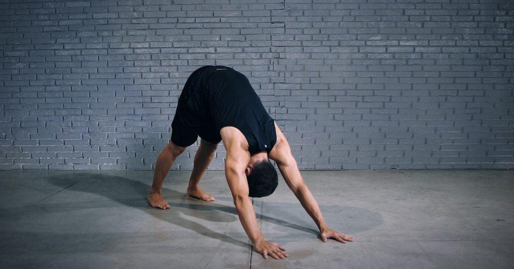 downward dog - EVO Fitness