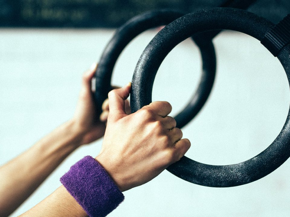 gymnastic rings - anneaux-de-gymnastique - Gymnastikringe - EVO Fitness