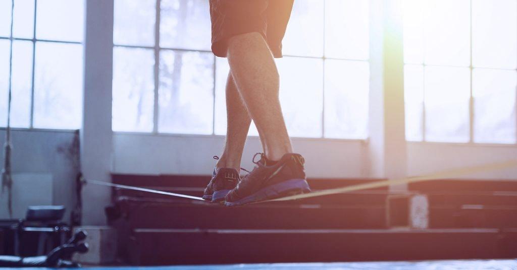 slackline exercises - exercices de slackline - Slackline Übungen - EVO Fitness