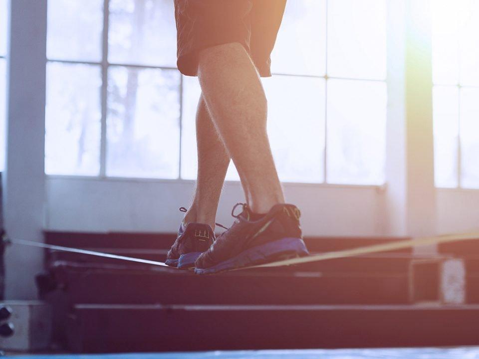 slackline exercises - exercices de slackline - Slackline-Übungen - EVO Fitness