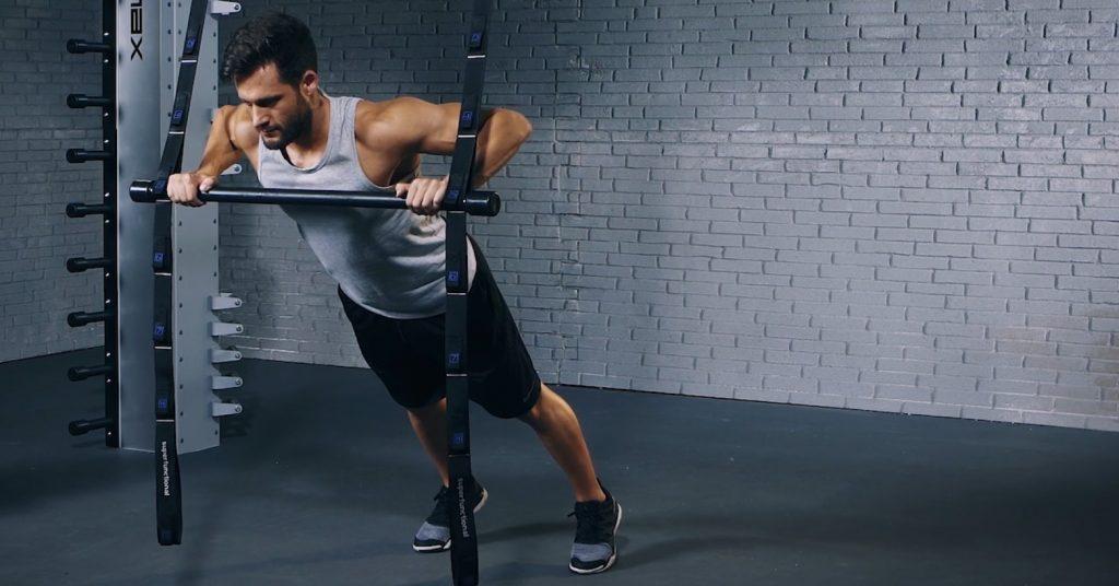 angled push-up - pompes inclinées - evofitness