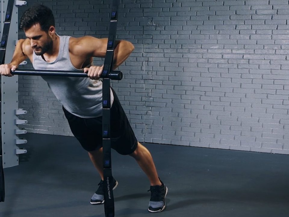 angled push-up - pompes inclinées - evofitness
