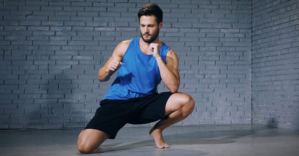 deep squat - tiefe kniebeuge - evo fitness