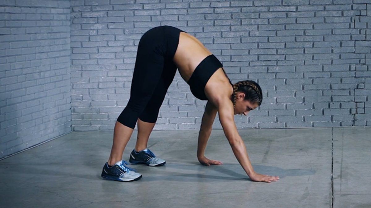 inch worm exercise - exercice inch worm - Inch-Worm Übung - evofitness
