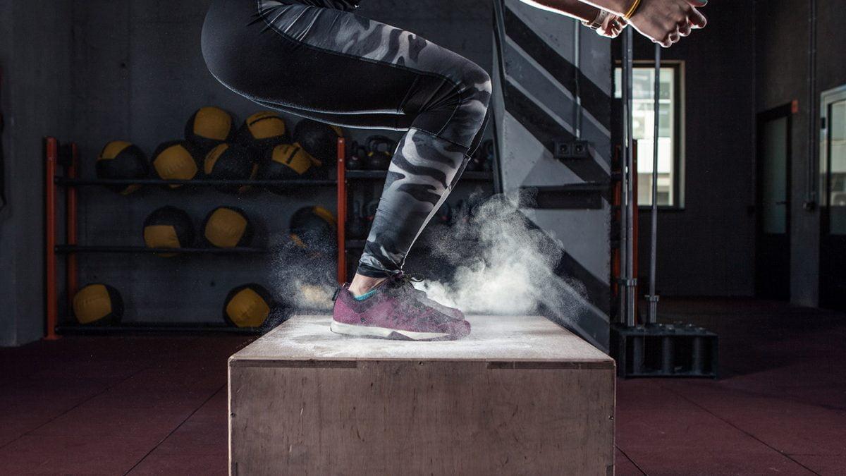 Box jump exercises - exercices avec jump box - Box Jump Übungen - evofitness