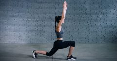 Tutorial: Jumping Lunge with Arms Overhead