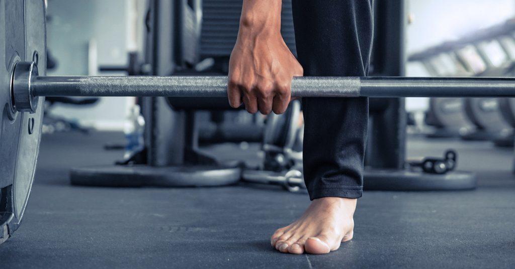 barefoot workout - entraînement pieds nus - Barfuß-Workouts - Evo Fitness