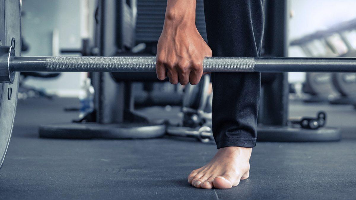 barefoot workout - entraînement pieds nus - Barfuß Workout - Evo Fitness