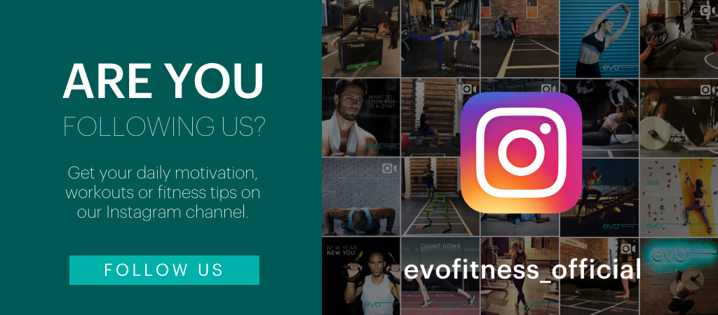 Instagram Follow EVO Fitness