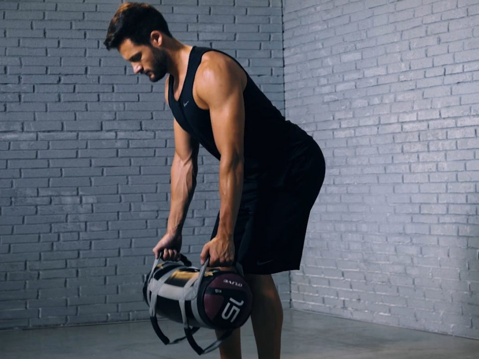 Tutorial: Core Bag Deadlift to Row