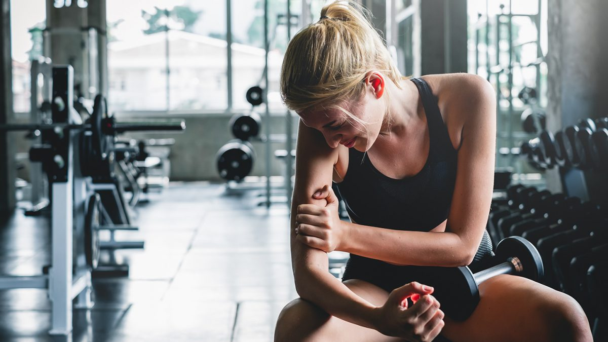 Training mit schmerzenden Muskeln - s'entraîner quand on a mal - working out while sore - EVO Fitness