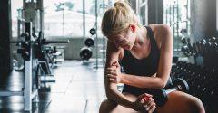 Est-ce une bonne idée de s'entraîner quand on a mal ?