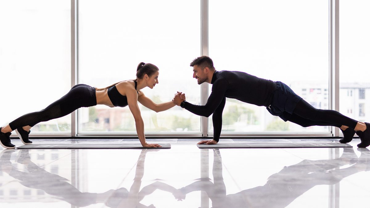Partner Workout - entraînement de couple - couples workout - EVO Fitness