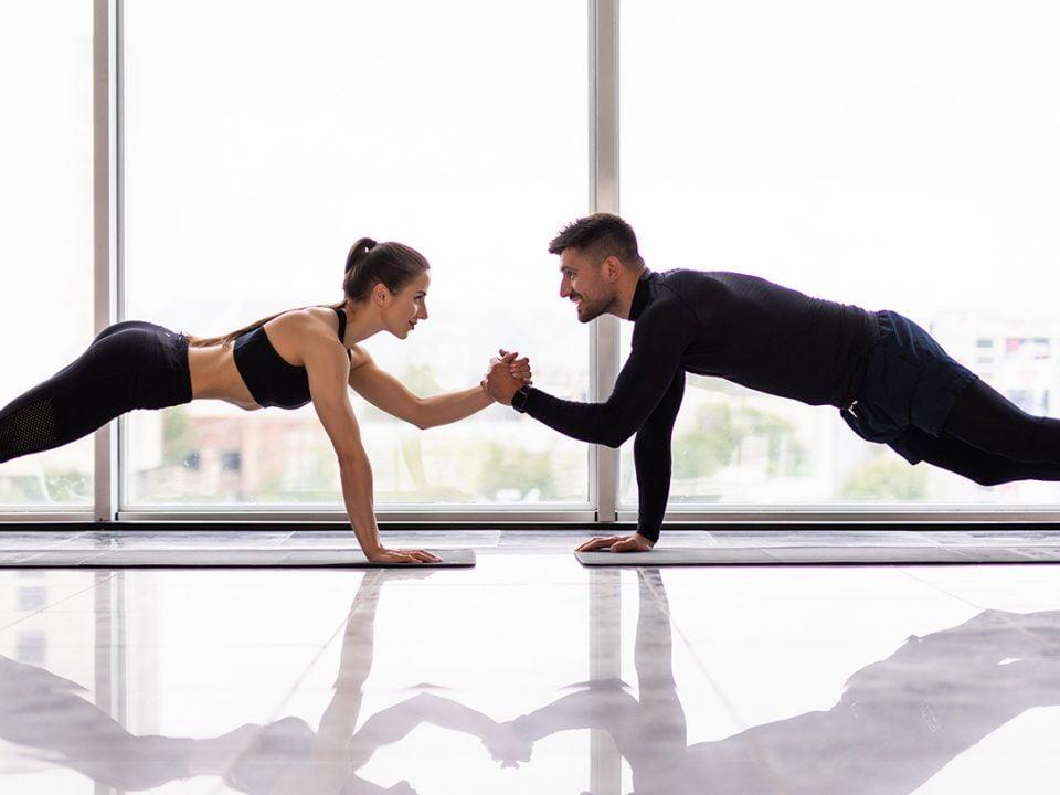 Partner Workout - entraînement de couple - couples workout - EVO Fitness