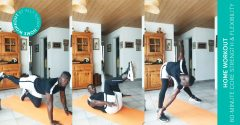 Home workout: 60-minute core strength & flexibility training