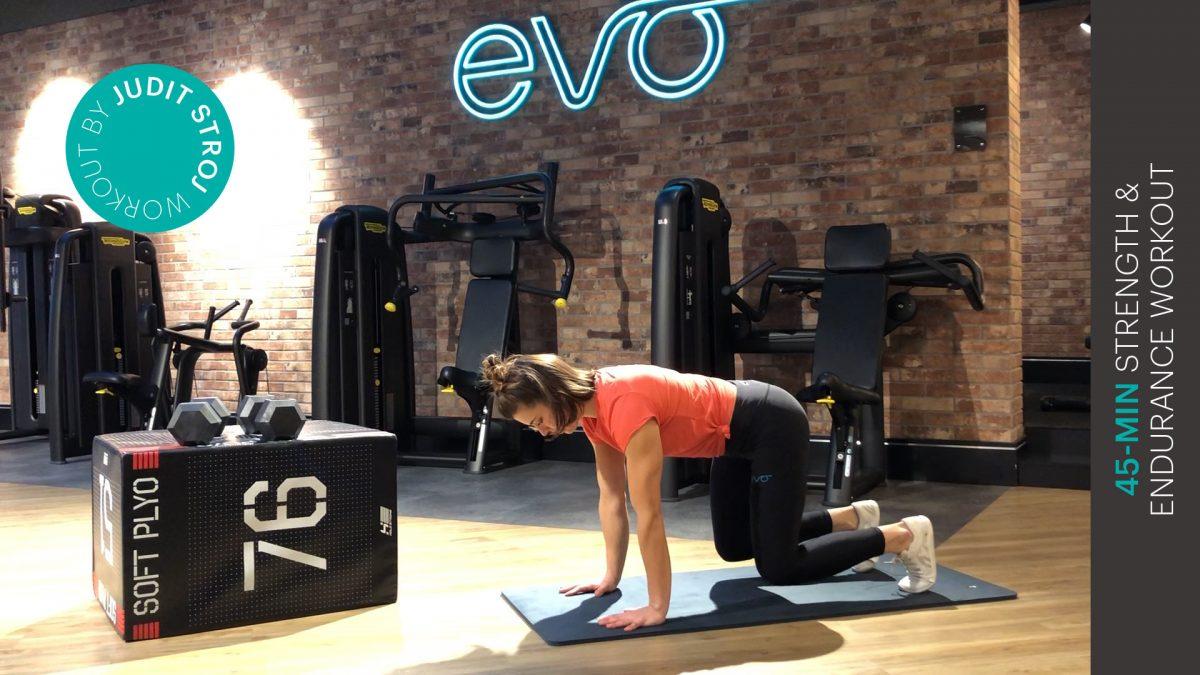 Ausdauer Workout - entraînement d'endurance - endurance workout - EVO Fitness
