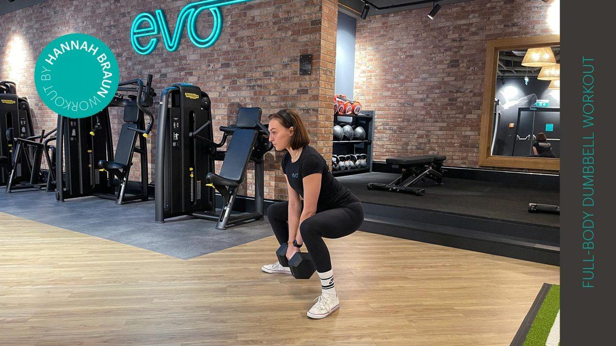 Ganzkörper Dumbbell Workout | entraînement avec haltères | Full-body dumbbell workout