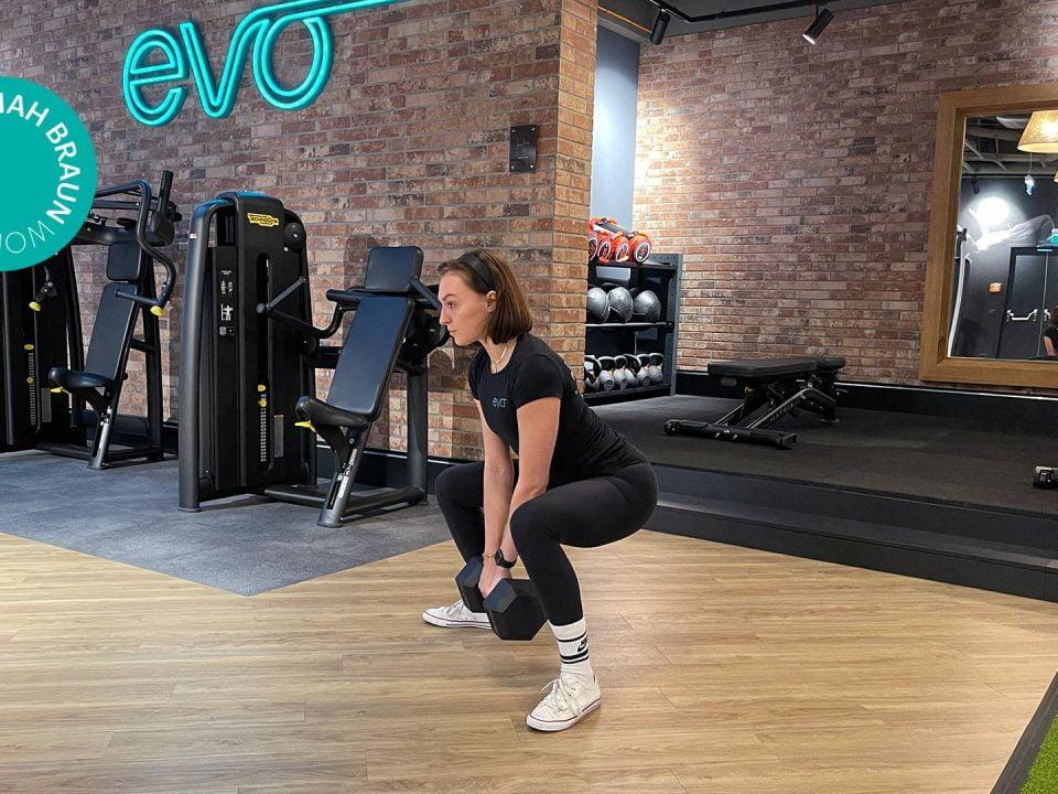 Ganzkörper Dumbbell Workout   entraînement avec haltères   Full-body dumbbell workout