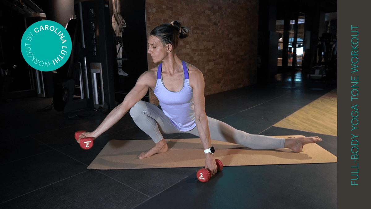 yoga tone workout | entraînement de yoga tone