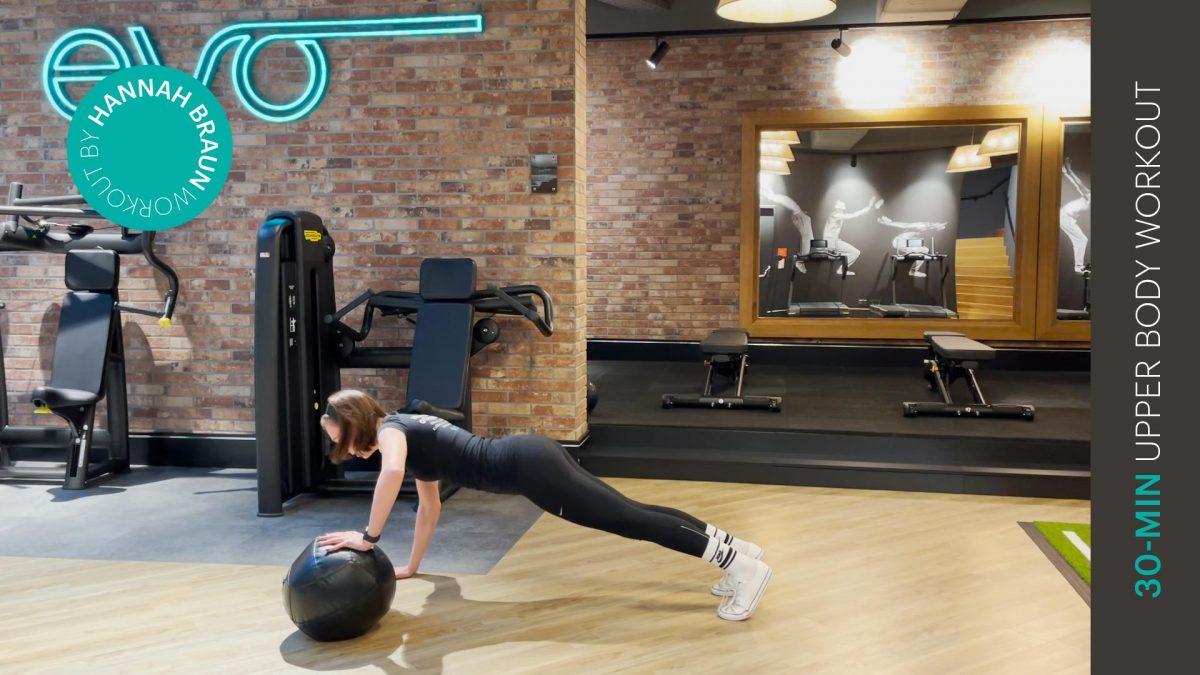 Oberkörper Workout - entraînement du haut du corps - upper body workout - EVO Fitness