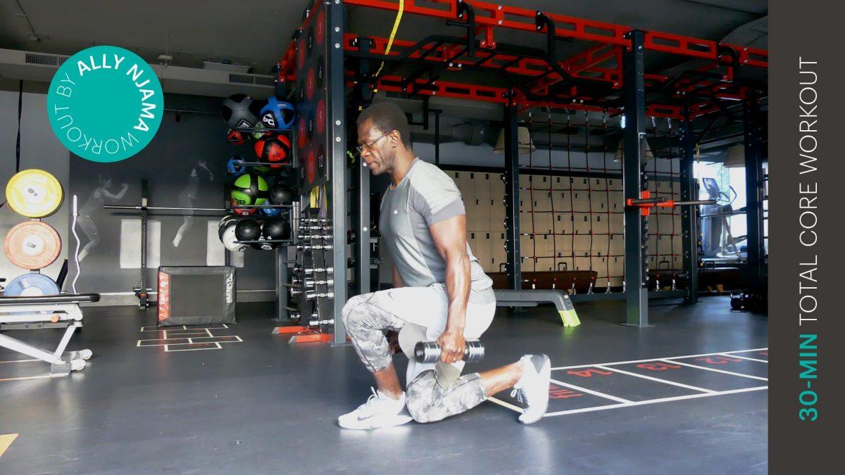 core workout - entraînement du tronc - EVO Fitness