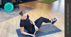 Workout of the week: 20-min abs and core workout