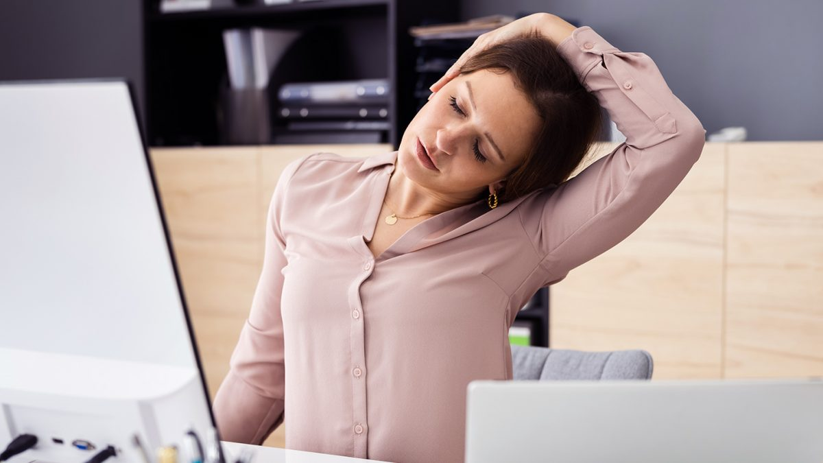 Nackenschmerzen - douleur au cou - neck pain - EVO Fitness