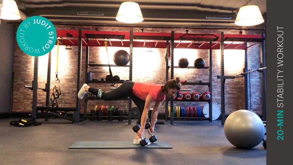 Stability Workout - entraînement de stabilité - EVO Fitness