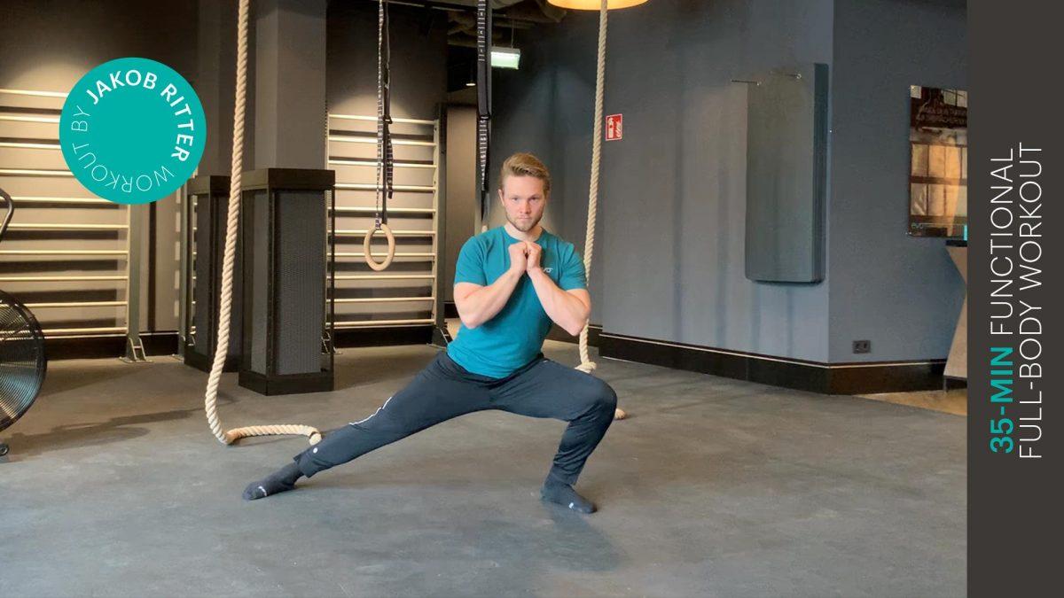 functional full-body workout - entraînement fonctionnel complet du corps - EVO Fitness