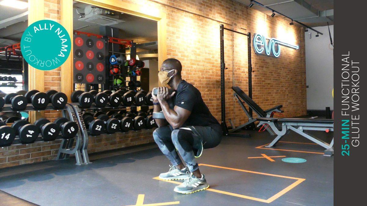 glute workout - entraînement des fessiers - EVO Fitness