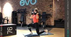 Workout of the week: 20-min full-body dumbbell workout