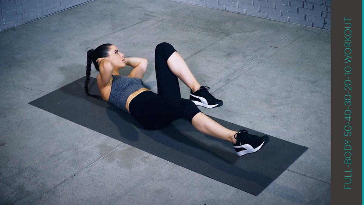 50-40-30-20-10 Workout | entraînement 50-40-30-20-10