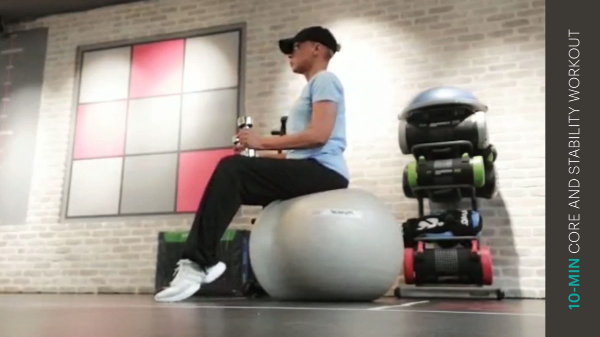 core and stability workout