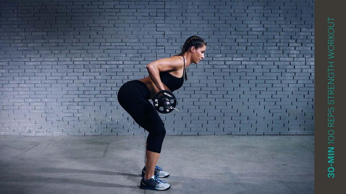 Kraft Workout mit 100 Wiederholungen | 100 reps strength workout